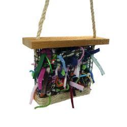 Bird Nesting Kit for fiber scraps